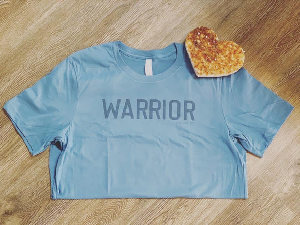 Warrior Tee Bundle + Bracelet (Warrior Fund Campaign) Blue
