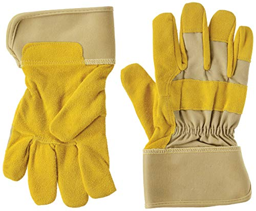 Midwest Gloves & Gear WW517-8-AZ-6 Womens Goatskin Leather Palm Glove, Size 8, Beige/Tan