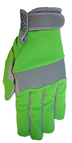 Midwest Gloves & Gear 149F6GR-9-AZ-6 Ladies Max Performance Garden Glove, Size 9, Green
