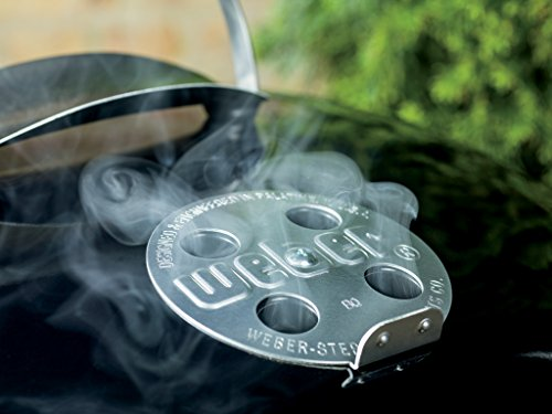 Weber Original Kettle Premium Charcoal Grill, 22-Inch, Black