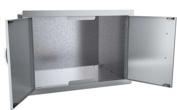 SUNSTONE DSH30 30-Inch Double Door Dry Storage