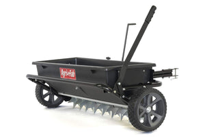 Agri-Fab 45-0543 100 lb. Tow Spiker/Seeder/Spreader, Black