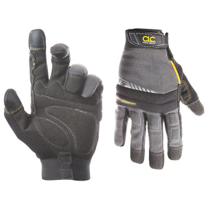 CLC Custom Leathercraft 125M Handyman Flex Grip Work Gloves, Shrink Resistant, Improved Dexterity, Tough, Stretchable, Excellent Grip