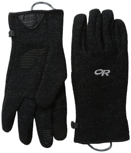 Outdoor Research Men's Flurry Sensor Gloves, Black, Medium