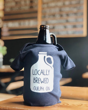 Locally Brewed Baby Onesie