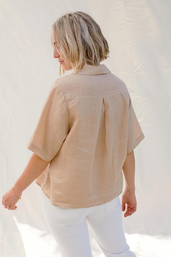 Short Sleeve in Natural