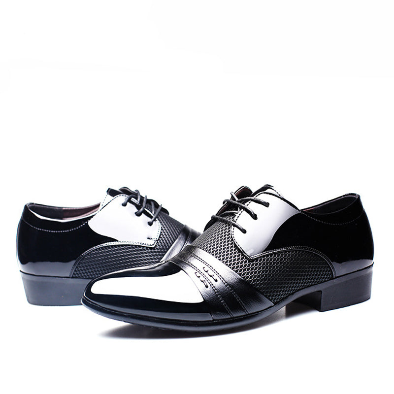 Formal Shoe Men Business Flat Shoes Free Shipping Size 38-47  6252879ad2d0