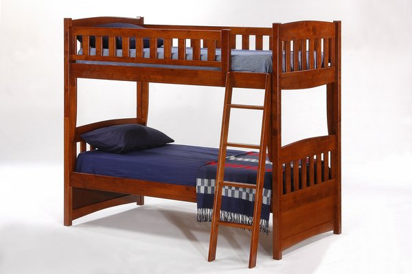 Cinnamon Twin / Twin Bunk Bed