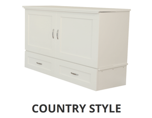Premium Country Style CabinetBed