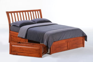 Nutmeg Platform Bed