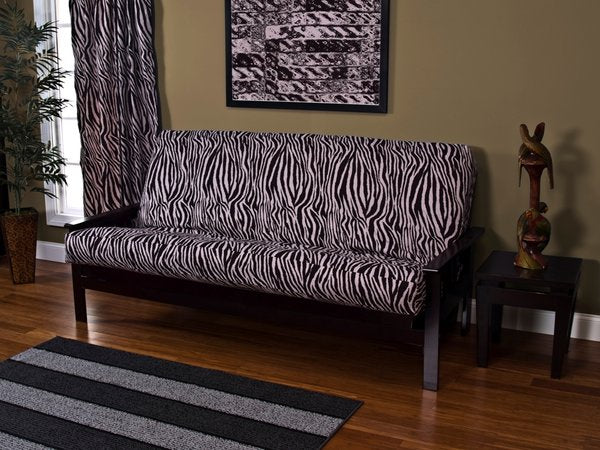 Zebra Zen Futon Cover by SIS