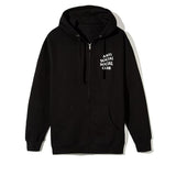 Kkoch Black Zip Hoody