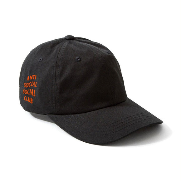 WEIRD CAP - BLACK/ ORANGE