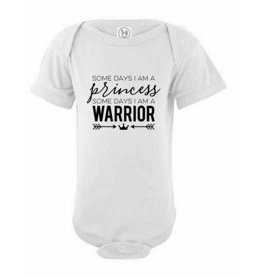 Princess Warrior Infant Bodysuit
