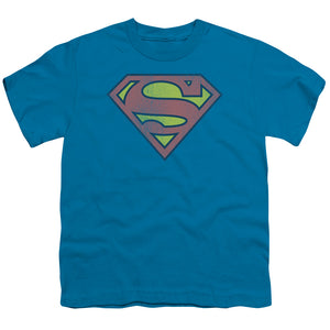 Retro Distressed Superman Tee - Kids