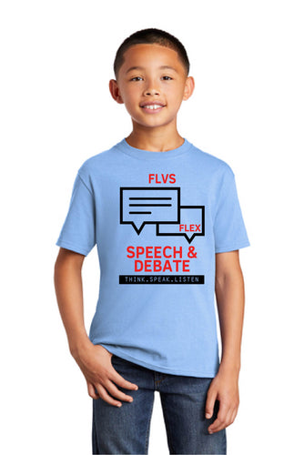 FLVS Speech and Debate Club Tee-Youth