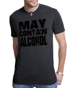 May Contain Alcohol Mens Crew