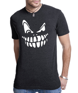 Scary Pumpkin Face - Mens Crew