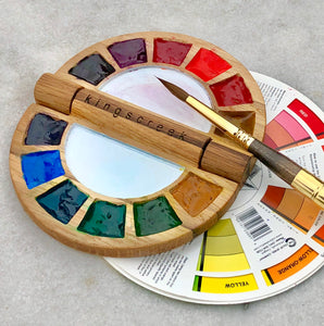 New! The Clam - Color wheel inspired palette