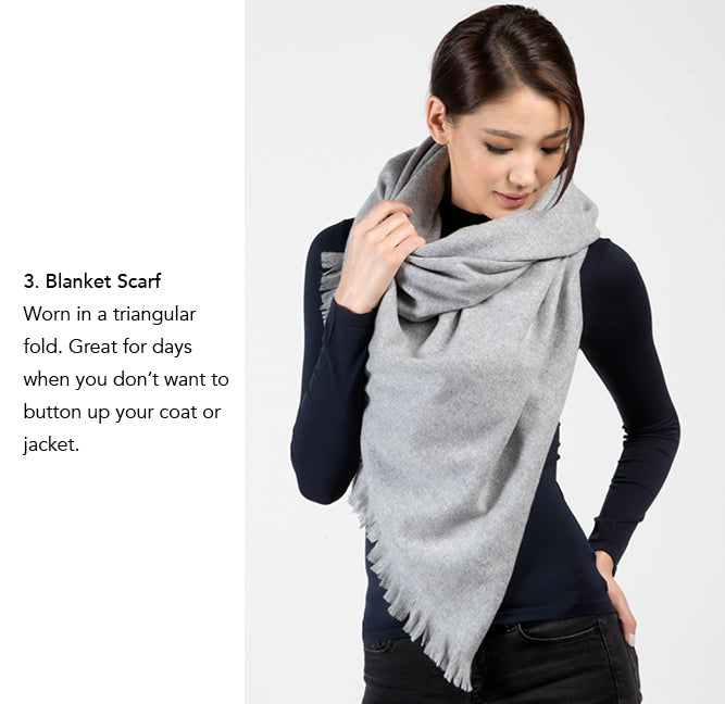 Cashmere Wrap by Etugen Cashmere, Blanket Scarf