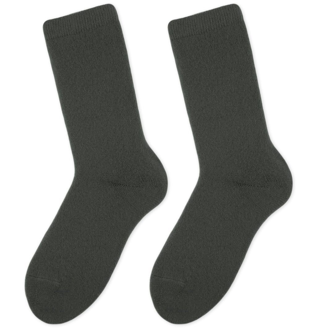 Cashmere socks women grey Etugen