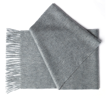 Dark Grey Cashmere Scarf by Etugen