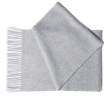 Light Grey Cashmere Scarf by Etugen