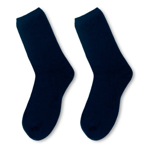 Etugen Cashmere Socks Pure Cashmere Socks Midnight Blue Black