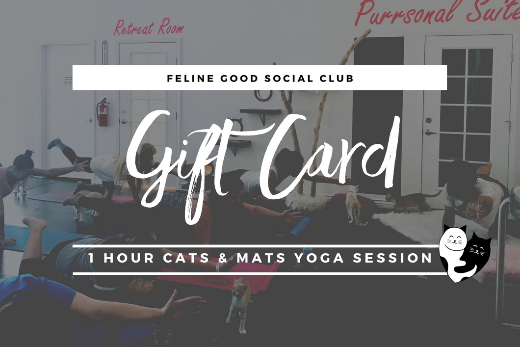 Feline Good Social Club Gift Card