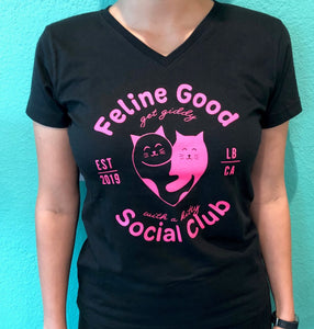 FGSC V-Neck T-Shirt - Black