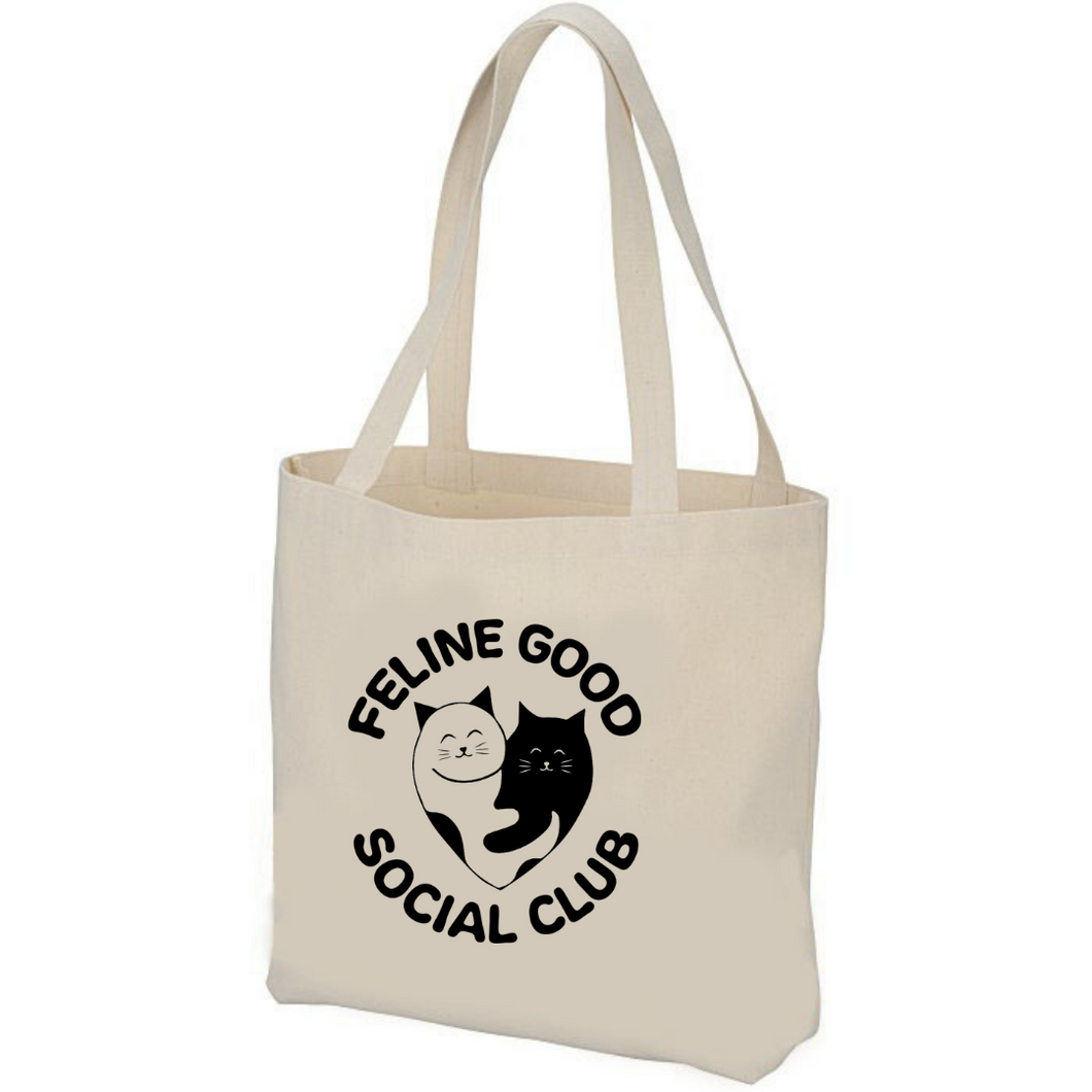 Feline Good Social Club Tote