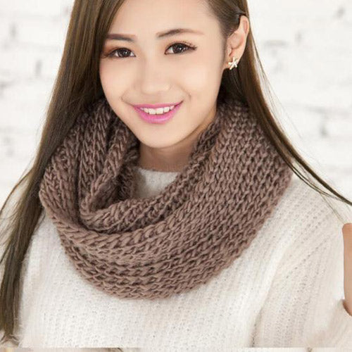 2018 Fashion Winter Knitted Scarf
