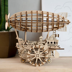 Airship DIY Puzzle Assembly Toy