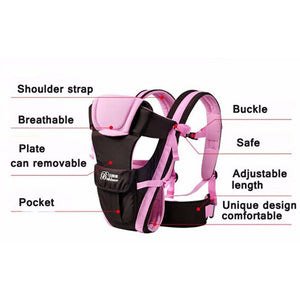 Comfortable Sling Backpack Pouch Baby Wrap