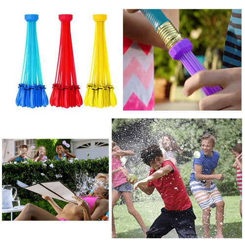Instant Water Balloon - 100 Balloons Set