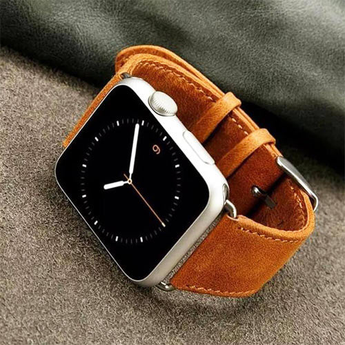 Luxury Leather Apple Watch Strap