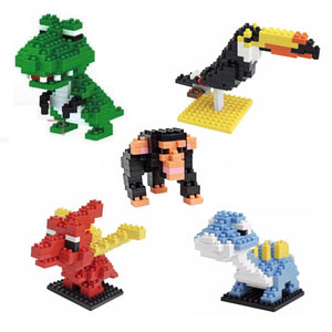 Mini Building Blocks - Fun Educational Toy Set