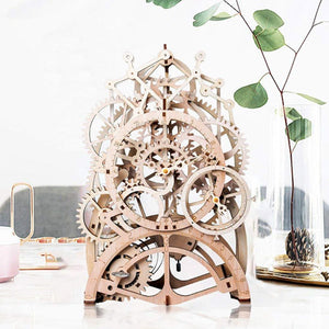 Pendulum Clock DIY Puzzle Assembly Toy