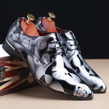 Load image into Gallery viewer, Shadow Patent Leather Luxury Shoes