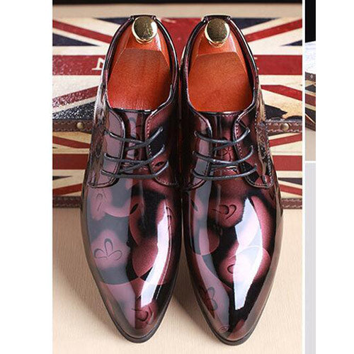 Shadow Patent Leather Luxury Shoes