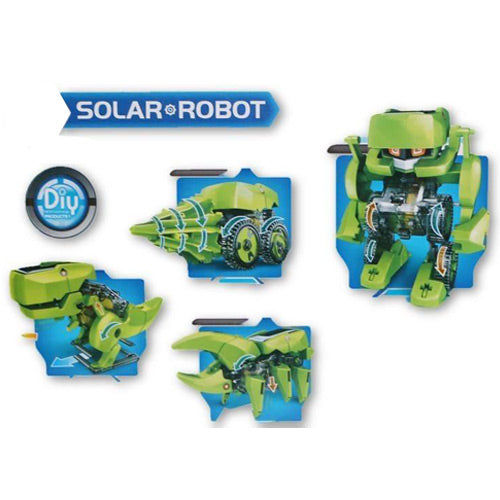 Solar Robot 4 in 1 Advanced Assembly