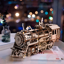 Load image into Gallery viewer, Train DIY Puzzle Assembly Toy