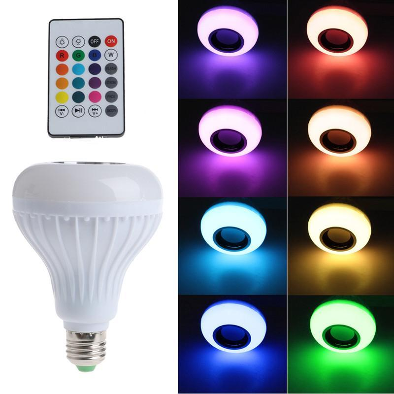 Bluetooth Speaker LED Light Bulb- Nightlight