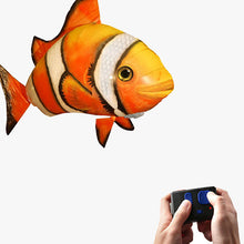 Load image into Gallery viewer, Remote Controlled Flying Shark Or Clownfish