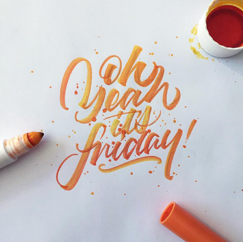 Friday Calligraphy