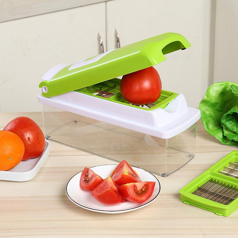 12 In 1 Fruit Vegetable Slicer & Chopper
