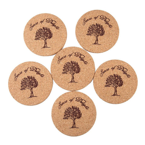 Cork Mug Placemat Set
