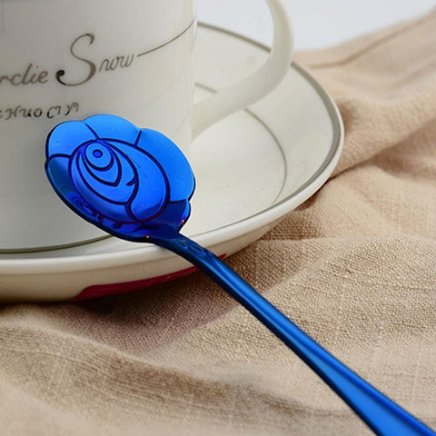 Flower Coffee Spoon Set