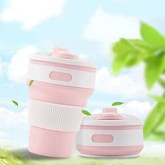 Collapsible Reusable Coffee Cup