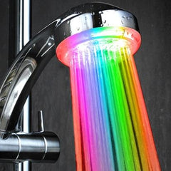 Rainbow LED Light Shower Head